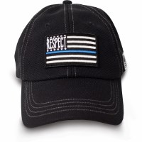 Buck Wear Inc Respect Blue Flag Hat OSFM Blue