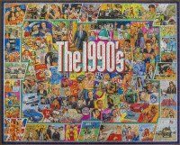 White Mountain Puzzles The 1990's Puzzle 1000 Pieces