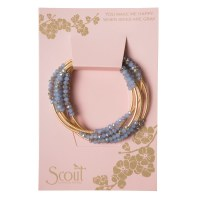 Scout Currated Wears Scout Wrap Bracelet/Necklace SW Cloud/Matte Gold