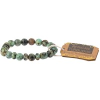 Scout Currated Wears Stone Stacking Bracelet SS African Turquoise