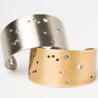 Scout Currated Wears Zodiac Cuff Bracelet AQUARIUS Brass- Aquarius