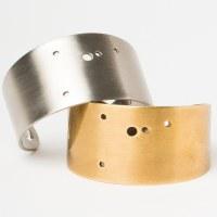 Scout Currated Wears Zodiac Cuff Bracelet CANCER Brass- Cancer