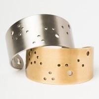 Scout Currated Wears Zodiac Cuff Bracelet PISCES Brass- Pisces