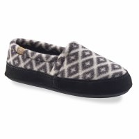 Acorn Acorn Moc Tex/Polar 5-6 Black/Cream Southwest