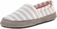 Acorn Women's Moc Summerweight S White Stripe