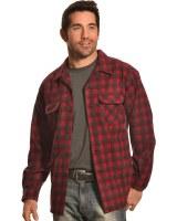 Pendleton Board Shirt X-Large Red/Dark Red Plaid
