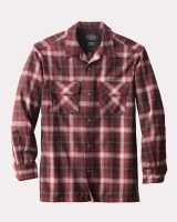 Pendleton Board Shirt X-Large Maroon Ombre