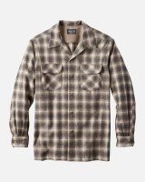 Pendleton Board Shirt L/S L Brown Mix/Ivory Ombre