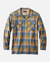 Pendleton Board Shirt L/S M Copper/Blue Ombre