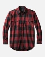 Pendleton Guide Shirt  X-Large Red Mix/Black Buffalo Check