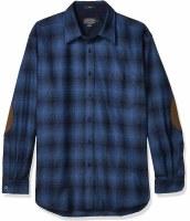 Pendleton L/S Trail Shirt W/Elbow Patch M Blue Ombre