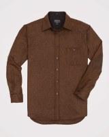 Pendleton Elbow-Patch Trail Shirt Medium Rust Mix