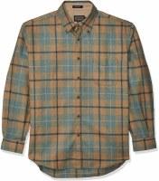 Pendleton L/S Fireside Button Down Shirt M Douglas Weathered Tartan