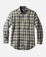 Pendleton Lodge Shirt M Green Ombre