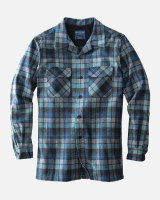 Pendleton Board Shirt Tall LT Blue Original Surf Plaid