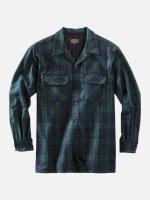 Pendleton Board Shirt Tall LT Black Watch Tartan