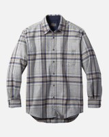Pendleton Lodge Shirt Tall LT Grey/Blue Multi