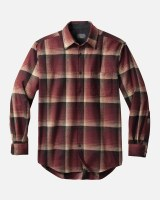 Pendleton Lodge Shirt Tall LT Maroon Ombre