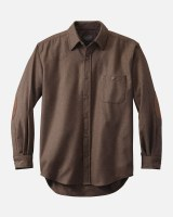 Pendleton Solid Trail Shirt Tall XLT Brown Mix