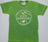 A.M. Associates New Hampshire Acid Wash S/S Tee Large Green