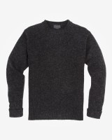 Pendleton Shetland Crew XX-Large Black Heather