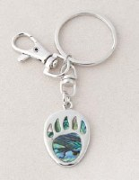 A.T. Storrs Bear Paw Key Chain