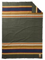 "Pendleton National Park Wool Full Blanket 80""x90"" Badlands"