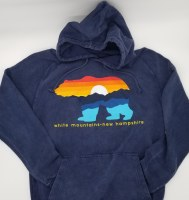 Duck Co. Mountain Bear Vintage Hoodie Large Vintage Denim