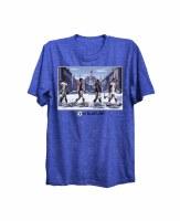 The Boston Sports Apparel Blue Line Retro T-Shirt Small Blue