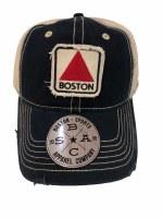 The Boston Sports Apparel Landmark Classic Boston Citgo Trucker Hat OS Navy