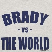 FBG Brady Vs World S/S T-Shirt Small Grey