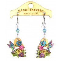 Handcrafters Gifts Hummingbird N/A Cherry Wood