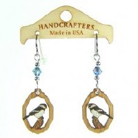 Handcrafters Gifts Chickadee N/A Cherry Wood