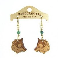 Handcrafters Gifts Wolf N/A Cherry Wood