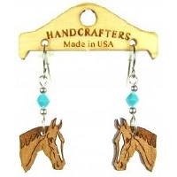 Handcrafters Gifts Horse Head N/A Cherry Wood
