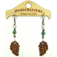 Handcrafters Gifts Pine Cone N/A Cherry Wood