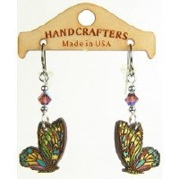 Handcrafters Gifts Butterfly N/A Cherry Wood