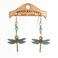 Handcrafters Gifts Dragonfly N/A Cherry Wood