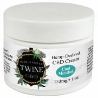 Twine CBD 150mg Topical Cream 1oz Cool Menthol