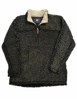 Live Oak  Quarter-Zip Fleece Medium Charcoal/Oatmeal