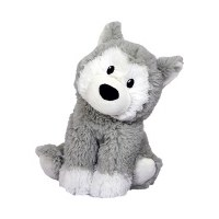 Warmies Cozy Plush Husky Full Size Huskey