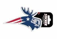 Woods & Sea Patriot Moose Decal No Size Patriot Moose