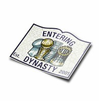 "The Boston Sports Apparel Entering Dynasty Sticker 5"" N/A"