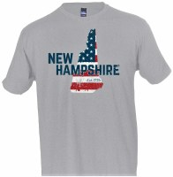 Brew City Est 1776 Tee S Heather Grey