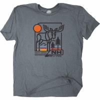 Duck Co. Flashback Moose S/S S Heather Gray