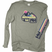 Duck Co. Flashback Mountain L/S S Heather Stone