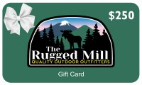 The Rugged Mill $250 Gift Card  $250