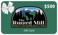 The Rugged Mill $500 Gift Card  $500