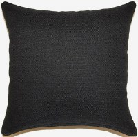 Creative Home Furnishings Grandstand Pillow 17x17 Black