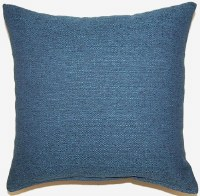Creative Home Furnishings Grandstand Pillow 17x17 Blue